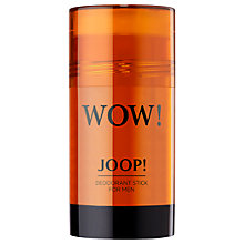 Buy JOOP! Wow! Deodorant Stick, 75g Online at johnlewis.com