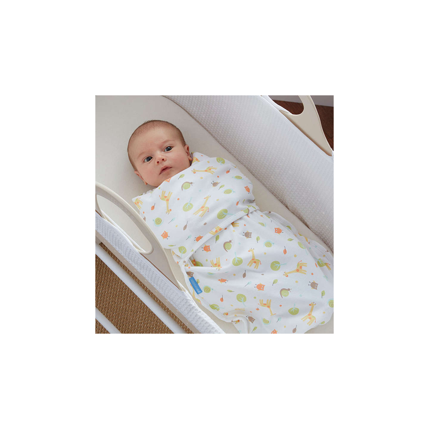 BuyGro Company Giraffe Swaddle Blanket Online at johnlewis.com