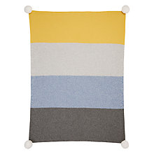 Buy John Lewis Forest Friends Stripe Baby Blanket Online at johnlewis.com