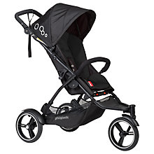 Buy Phil & Teds Dot Pushchair, Black Online at johnlewis.com