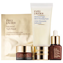 Buy Estée Lauder Advanced Night Repair Skincare Starter Set Online at johnlewis.com