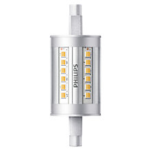 Buy Philips 7W R7s LED Tube Bulb, Clear, Non Dimmable Online at johnlewis.com