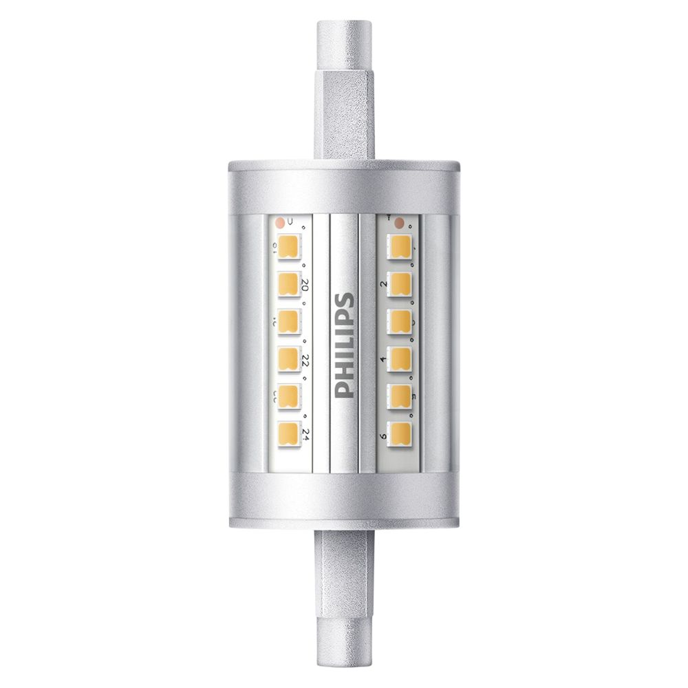philips 7w r7s led tube bulb clear non dimmable bluewater. Black Bedroom Furniture Sets. Home Design Ideas