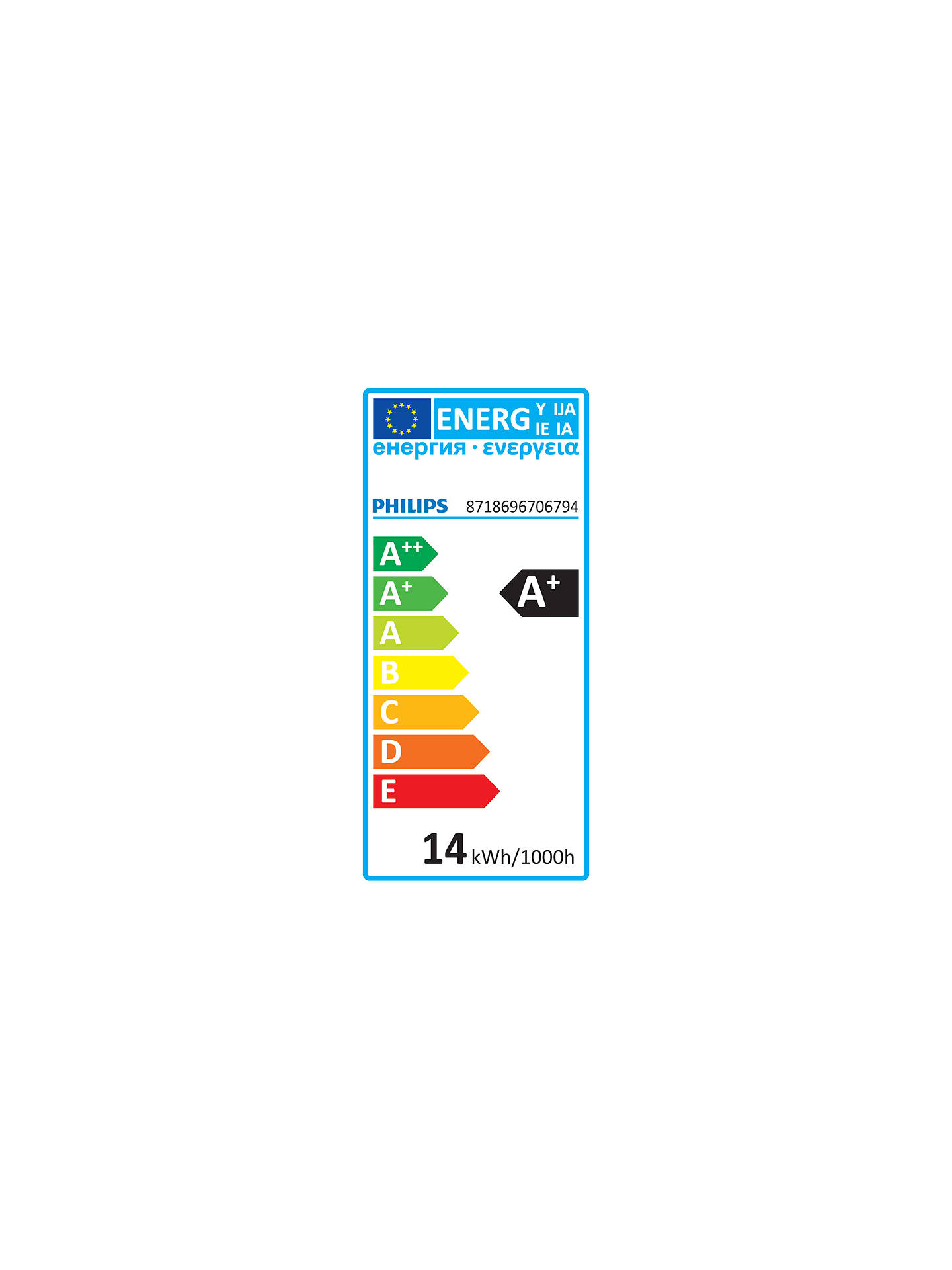 Buy Philips SceneSwitch 13.5W ES LED 3 Step Bulb, Clear, Dimmable Online at johnlewis.com