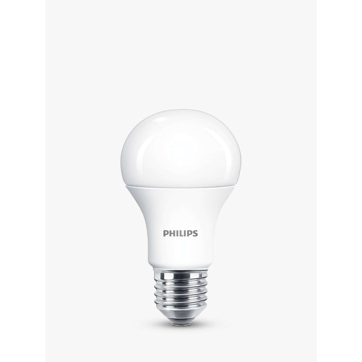 BuyPhilips 12.5W ES LED Bulb, Cool White, Non Dimmable Online at johnlewis.