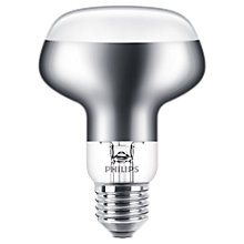 Buy Philips 5W LED Energy Efficient ES R80 Reflector Bulb, Non Dimmable Online at johnlewis.com