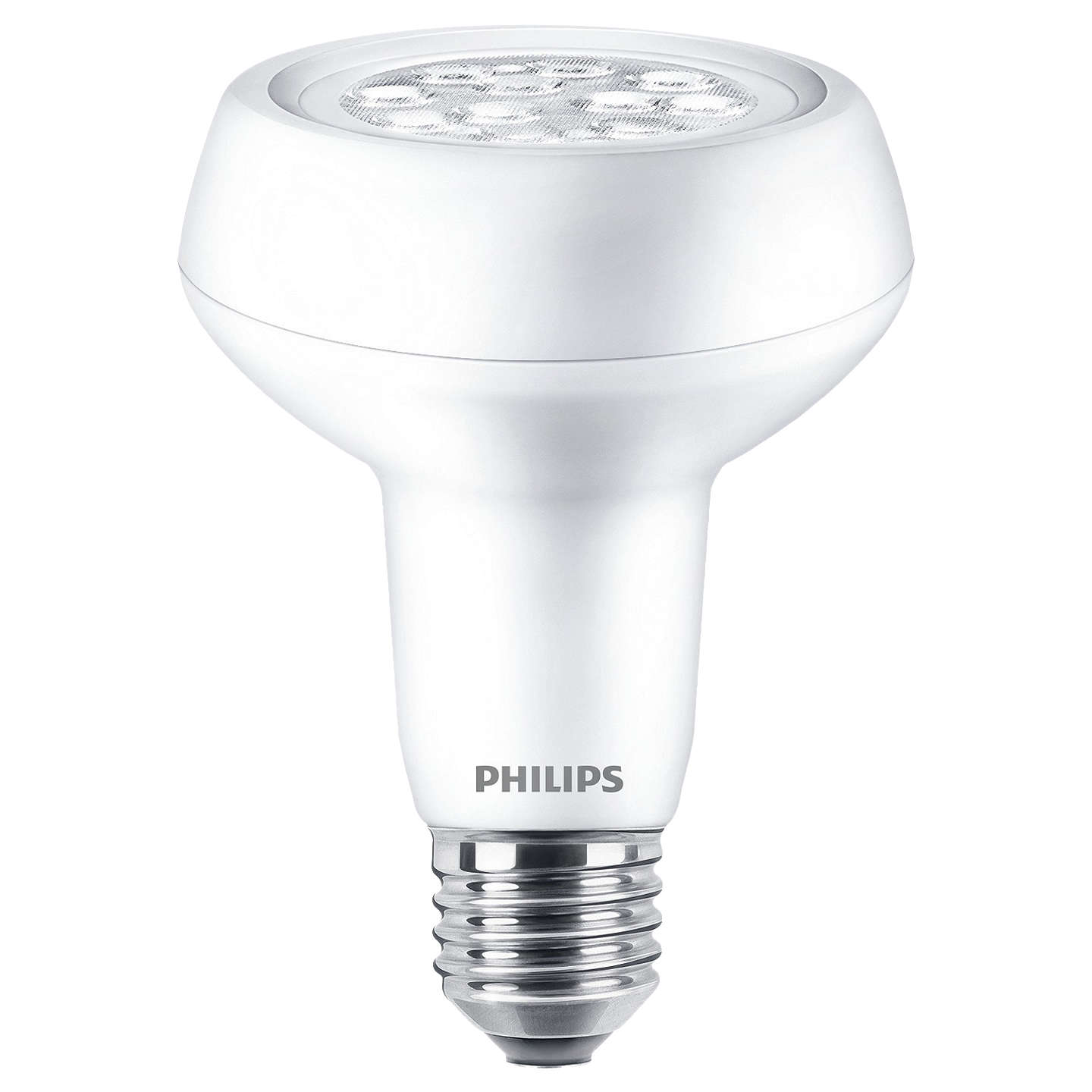 BuyPhilips 7W LED Energy Efficient ES R80 Reflector Bulb, Non Dimmable Online at johnlewis.com