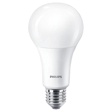 Buy Philips 13.5W ES LED Warm Glow Bulb, Clear, Dimmable Online at johnlewis.com