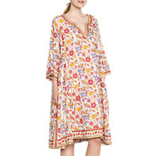 Buy East Anokhi Lalita Tunic Dress, White Online at johnlewis.com