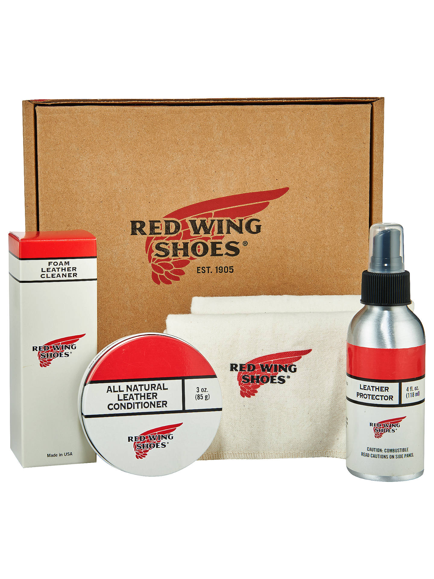 Buy Red Wing Shoes Shoe Care Kit Online at johnlewis.com
