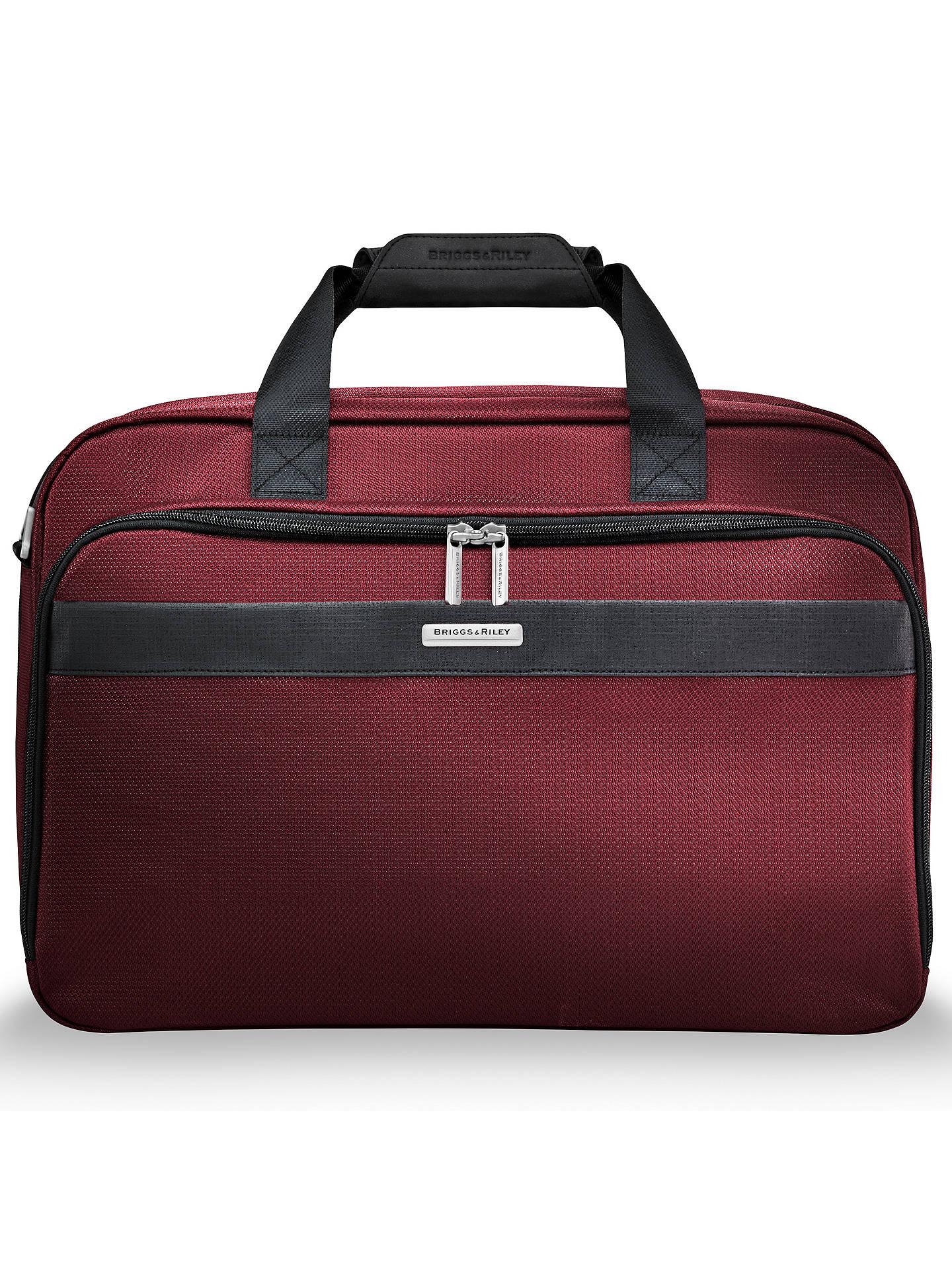 5f0025bd54d Buy Briggs & Riley Transcend Clamshell Cabin Bag, Merlot Online at  johnlewis. ...