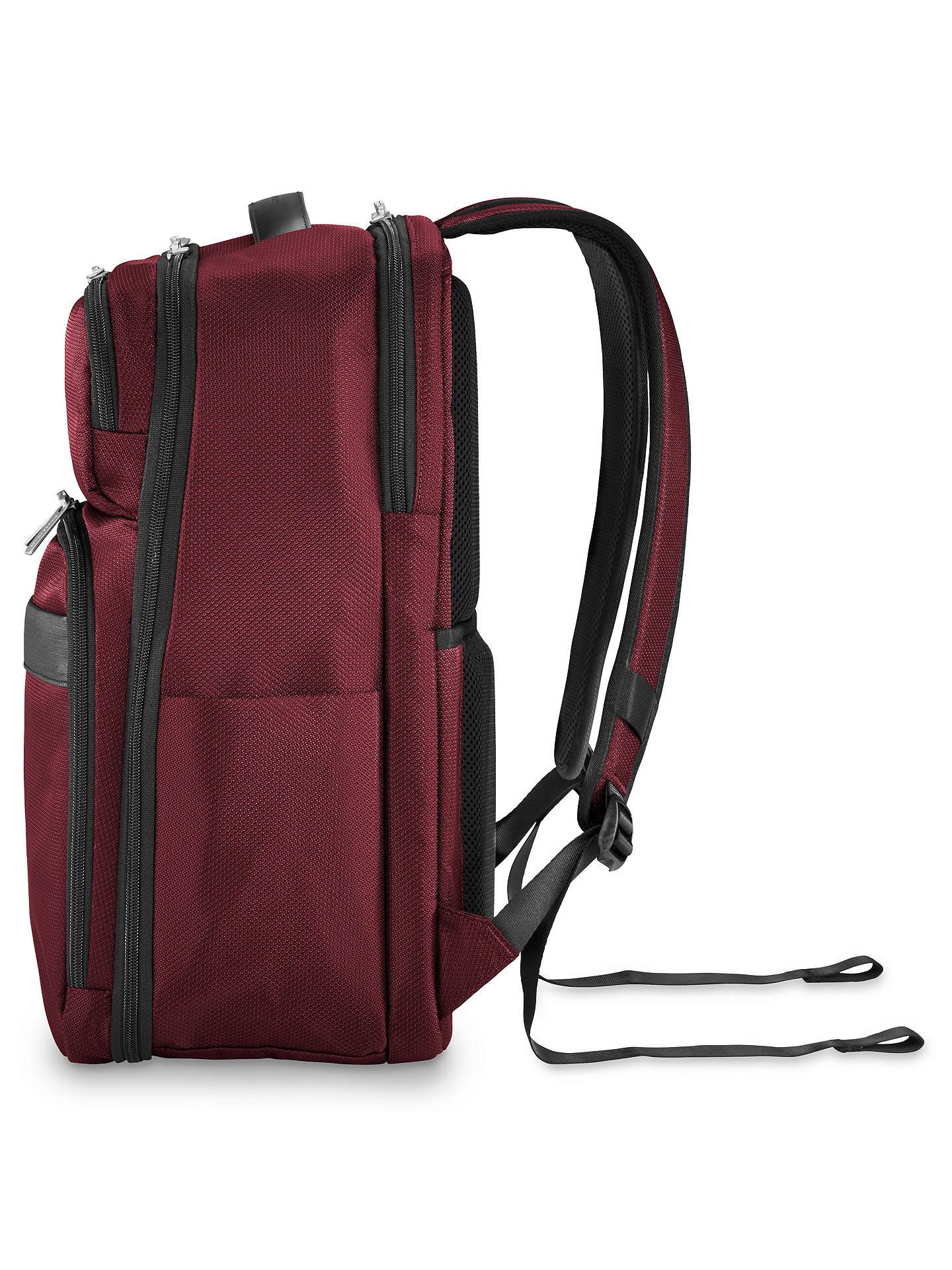 50d8dd7fb20 ... BuyBriggs   Riley Transcend Backpack, Merlot Online at johnlewis. ...