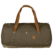 Buy Fjallraven Duffle No.4 Bag, Khaki/Sand Online at johnlewis.com