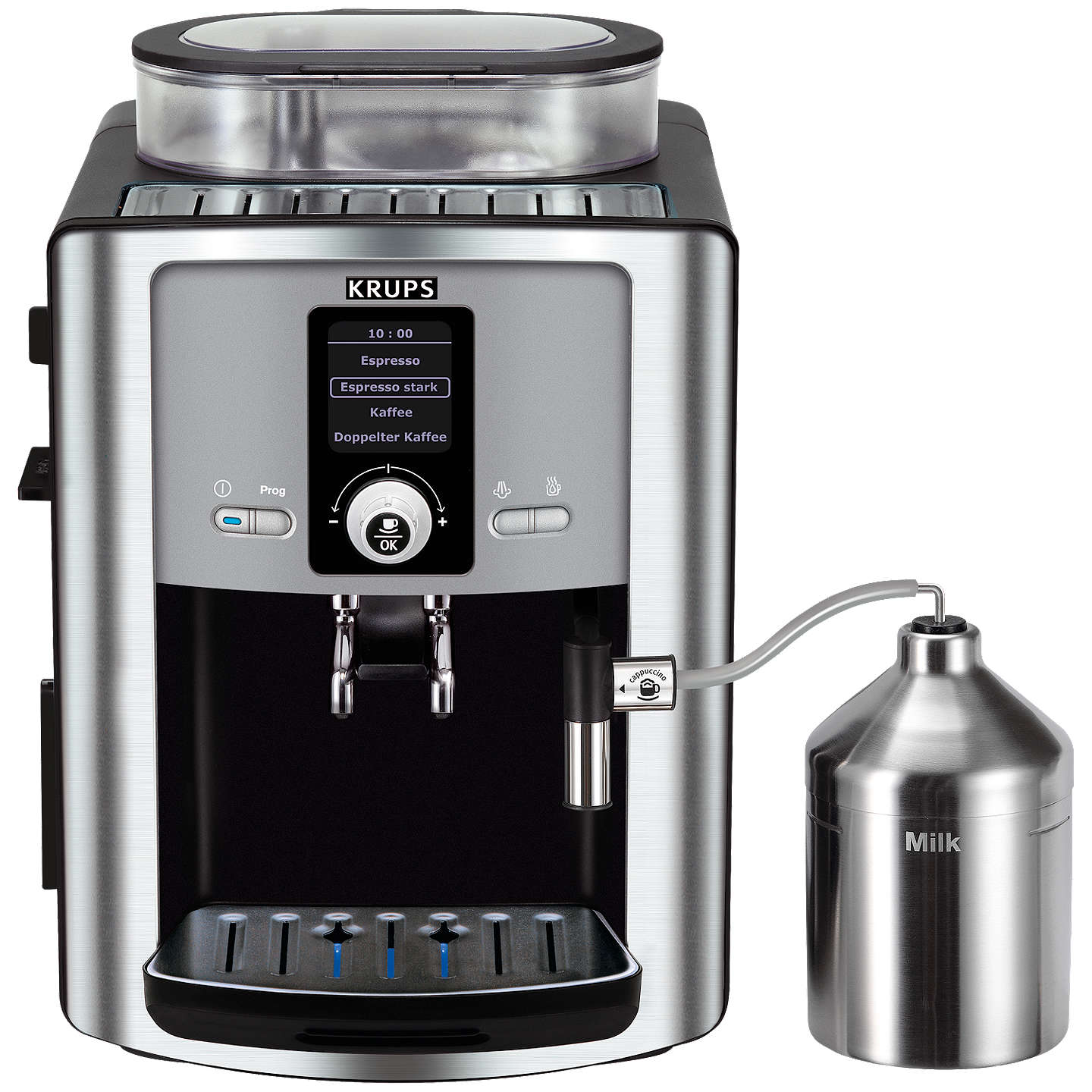 Buykrups Ea8050 Espresseria Bean To Cup Coffee Machine, Stainless Steel Online At