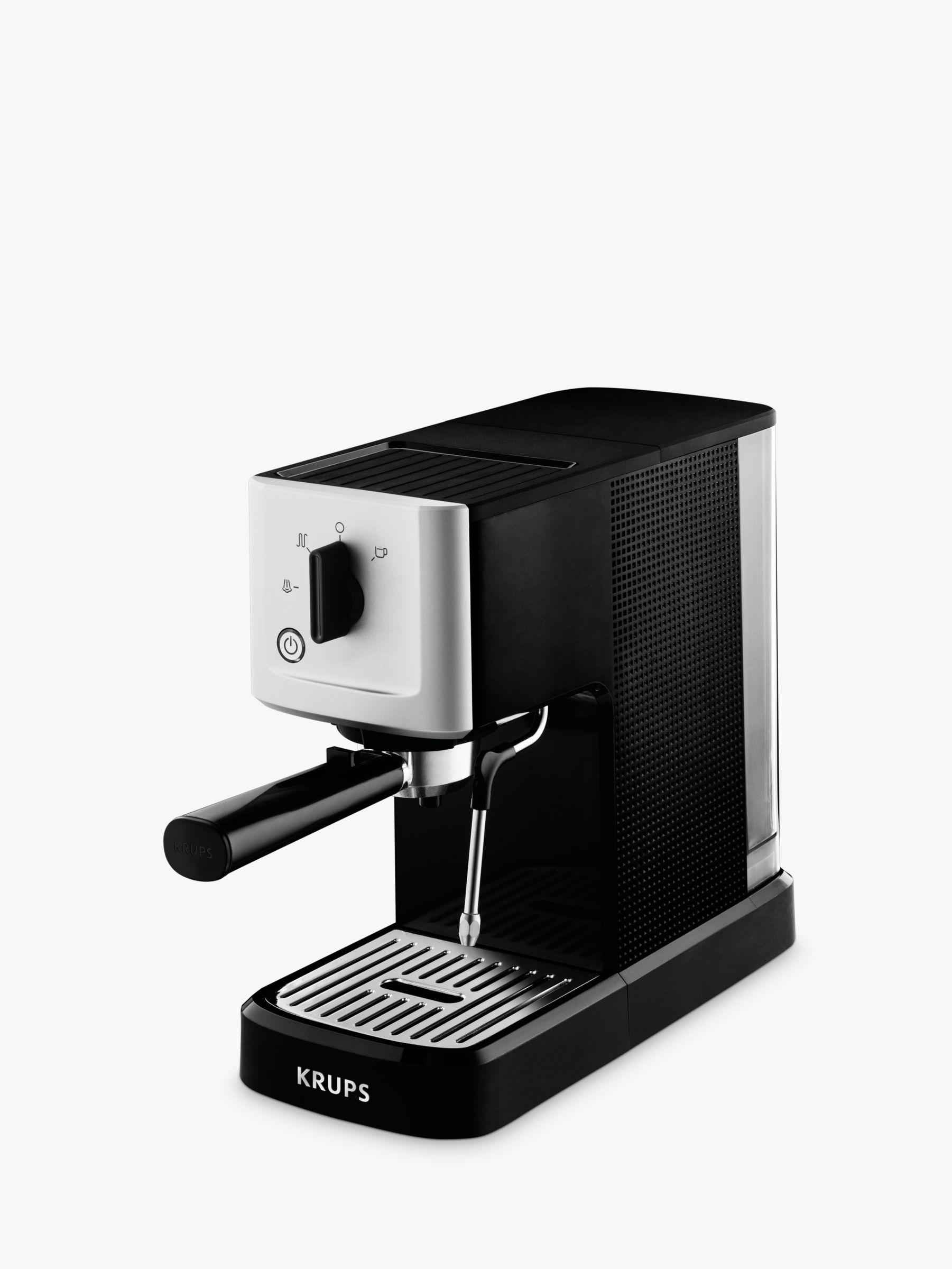 Krups Krups XP344040 Calvi Manual Espresso Machine, Black