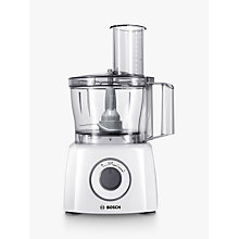 Buy Bosch MCM3100WGB MultiTalent 3 Compact Food Processor, White Online at johnlewis.com