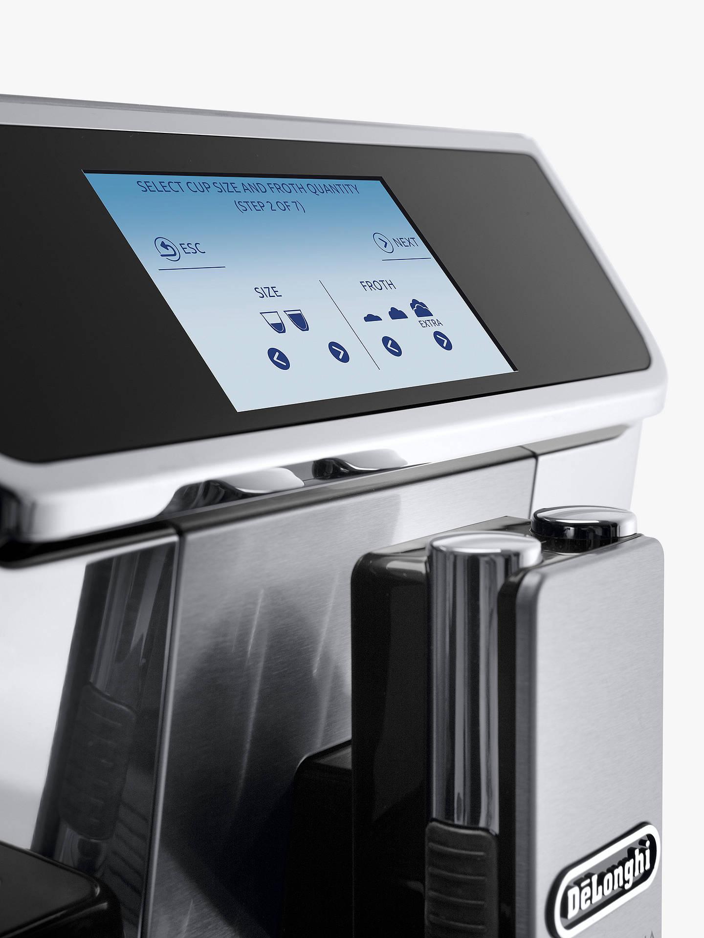 vendita calda online bfee0 6ffbd De'Longhi ECAM650.85.MS PrimaDonna Elite Experience Bean-to-Cup Coffee  Machine