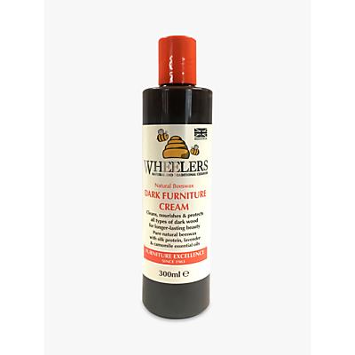 Wheelers Natural Beeswax Dark Furniture Cream, 300ml