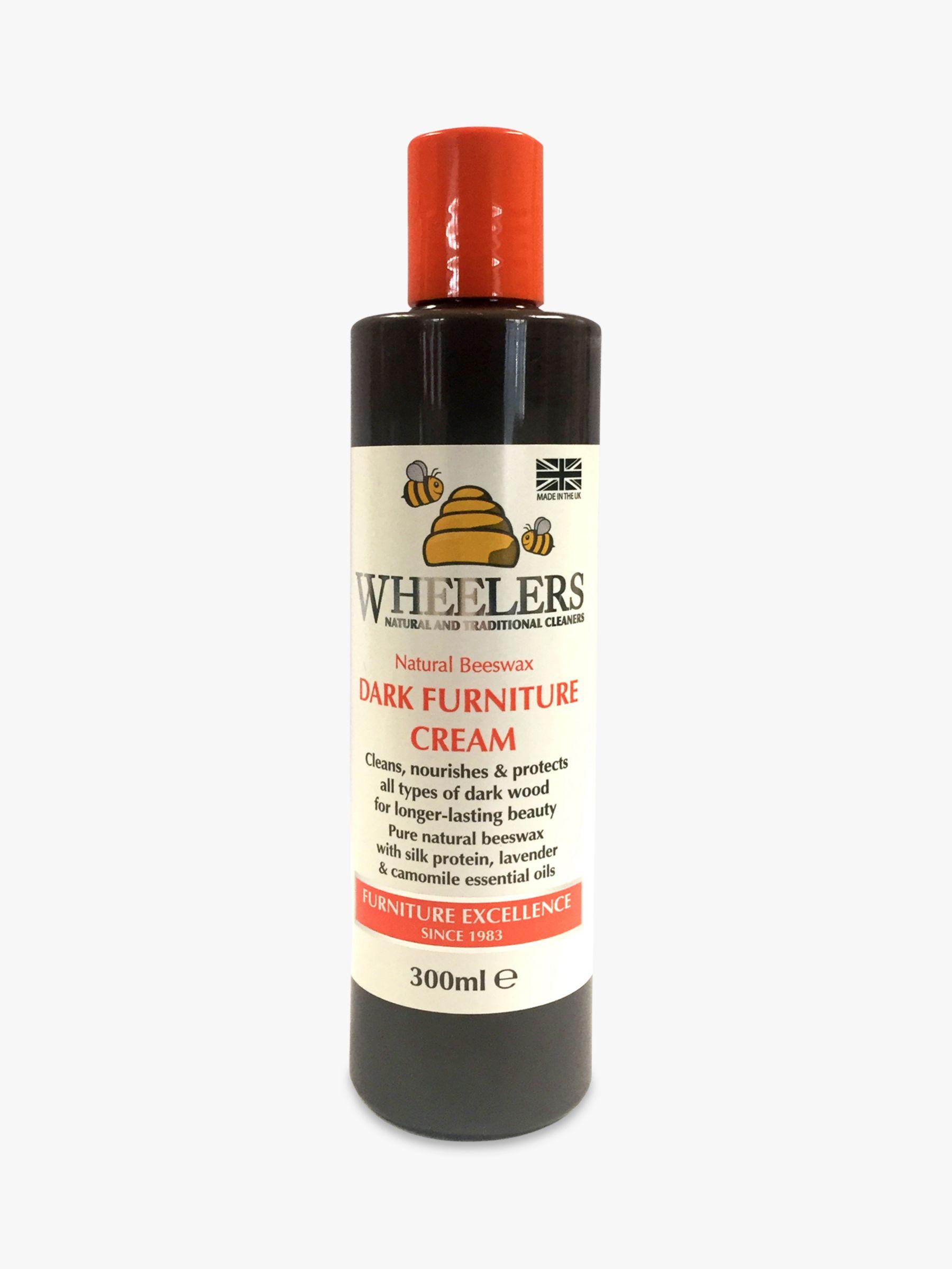 Wheelers Wheelers Natural Beeswax Dark Furniture Cream, 300ml