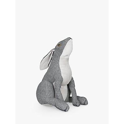 Dora Designs Hare Doorstop, Grey
