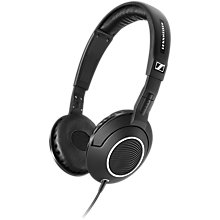 Buy Sennheiser HD231i On-Ear Headphones with Inline Microphone & Remote for iOS Devices, Black Online at johnlewis.com