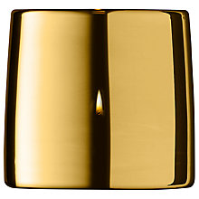 Buy LSA International Metallic Tealight Holder, Gold Online at johnlewis.com