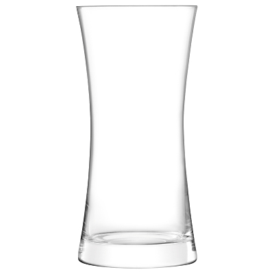 LSA International Moya Vase, Clear, H40cm