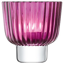 Buy LSA International Pleat Tealight Holder Online at johnlewis.com
