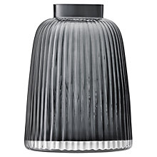 Buy LSA International Pleat Vase, Grey, H26cm Online at johnlewis.com