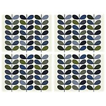 Buy Orla Kiely Multi Stem Placemats, Set of 4, Khaki/Multi Online at johnlewis.com