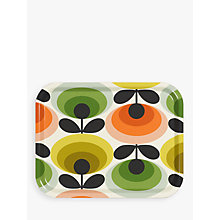 Buy Orla Kiely 70s Oval Flower Medium Tray, L36cm Online at johnlewis.com