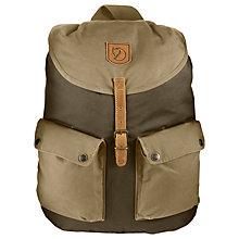 Buy Fjallraven Greenland Large Backpack, Khaki/Sand Online at johnlewis.com