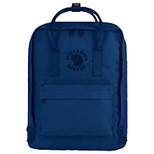 Buy Fjallraven Re-Kanken Backpack, Midnight Blue Online at johnlewis.com