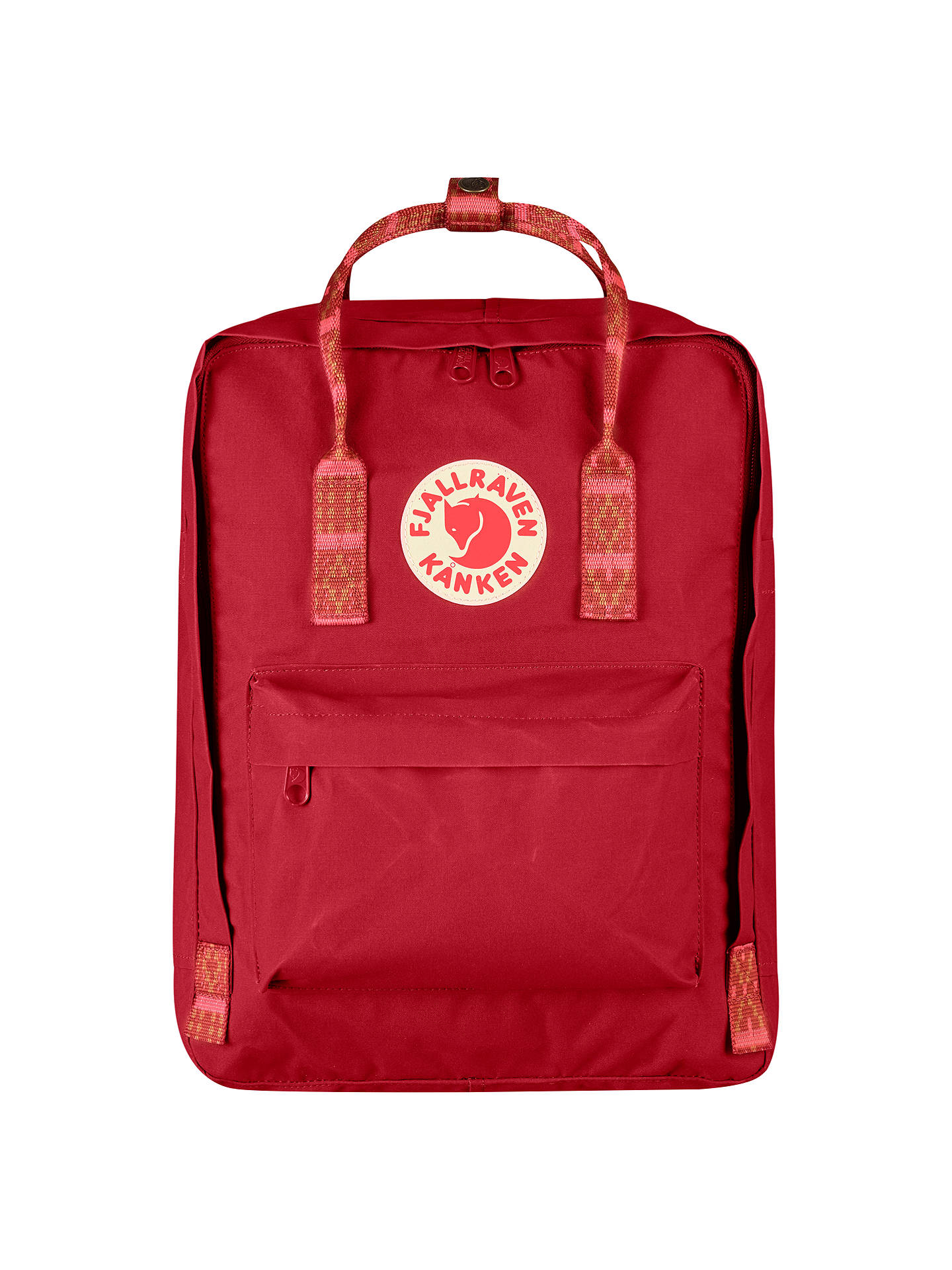 FjallRaven Travel Pillow Red en