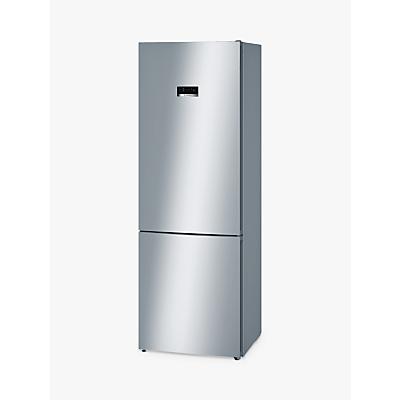 Bosch KGN49XL30G Freestanding Fridge Freezer, A++ Energy Rating, 70cm Wide, Stainless Steel