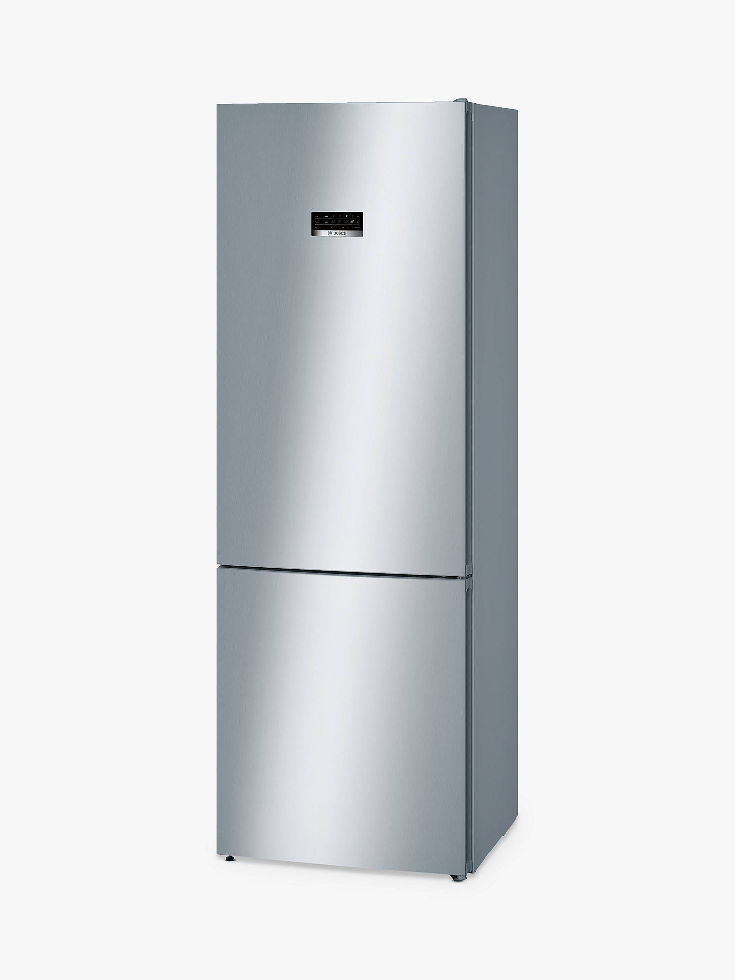 BuyBosch KGN49XL30G Freestanding Fridge Freezer, A++ Energy Rating, 70cm Wide, Stainless Steel Look Online at johnlewis.com