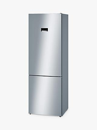 Bosch KGN49XL30G Freestanding Fridge Freezer, A++ Energy Rating, 70cm Wide, Stainless Steel Look