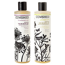 Buy Cowshed Knackered Cow & Grumpy Cow Body Wash Duo Online at johnlewis.com