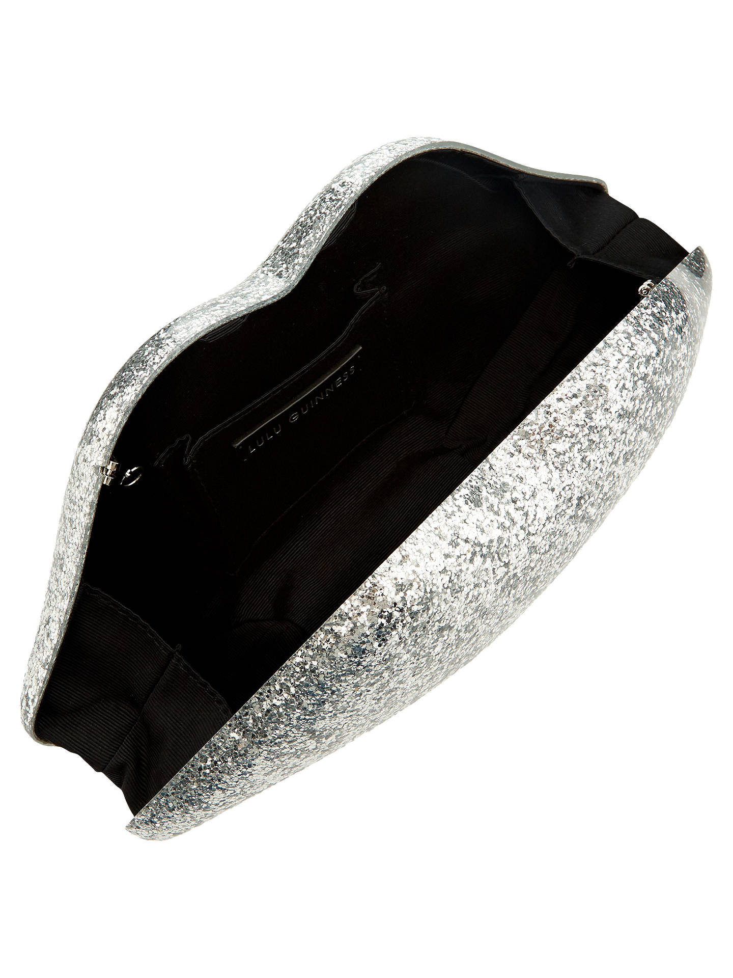 3c5cdc3524e4 ... Buy Lulu Guinness Large Perspex Lips Clutch Bag