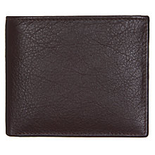 Buy John Lewis Katta Aniline Bifold Leather Wallet, Oxblood Online at johnlewis.com
