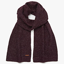 Buy Ted Baker Tescarf Ribbed Scarf, Purple Online at johnlewis.com