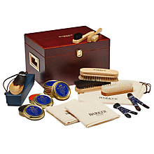 Buy Barker Shoe Shine Valet Box Online at johnlewis.com