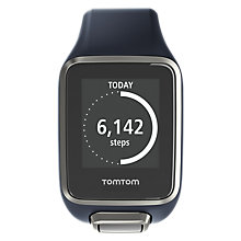 Buy TomTom Golfer 2 GPS Watch, Blue, Large Online at johnlewis.com