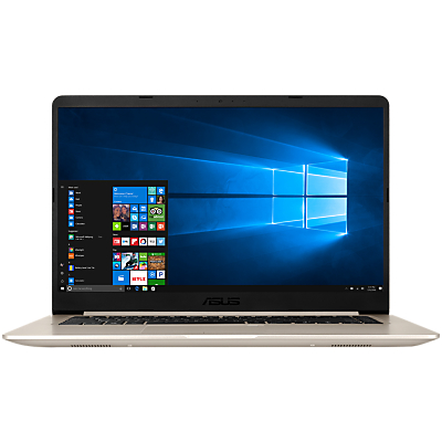 Image of ASUS Vivobook S510 Laptop, Intel Core i7, 8GB RAM, 256GB SSD, 15.6, Metal Gold