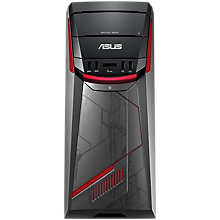 Buy ASUS G11 Desktop PC, AMD Ryzen 5, 8GB RAM, 1TB HDD + 256GB SSD, AMD Radeon RX 480, Black Online at johnlewis.com