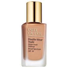 Buy Estée Lauder Double Wear Nude Water Fresh Makeup, SPF30 Online at johnlewis.com