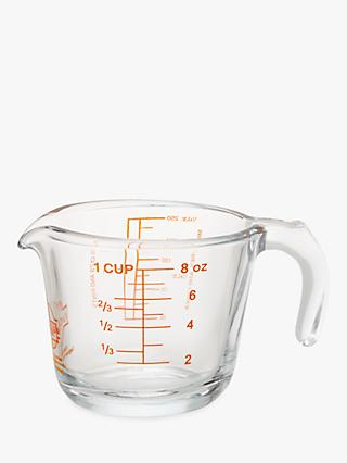 Ocuisine Measuring Jug, Clear, 250ml