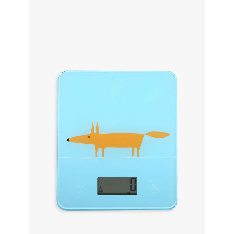 Scion Mr Fox Electronic Kitchen Scales at John Lewis