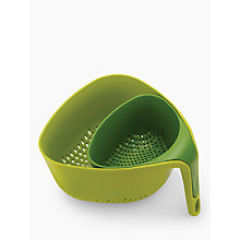 Buy Joseph Joseph Square Nest Colanders, Set of 2, Green Online at johnlewis.com