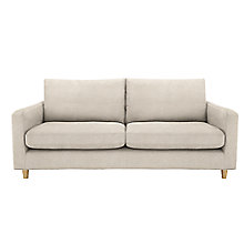 Buy John Lewis Bailey Large 3 Seater Sofa, Light Leg Online at johnlewis.com
